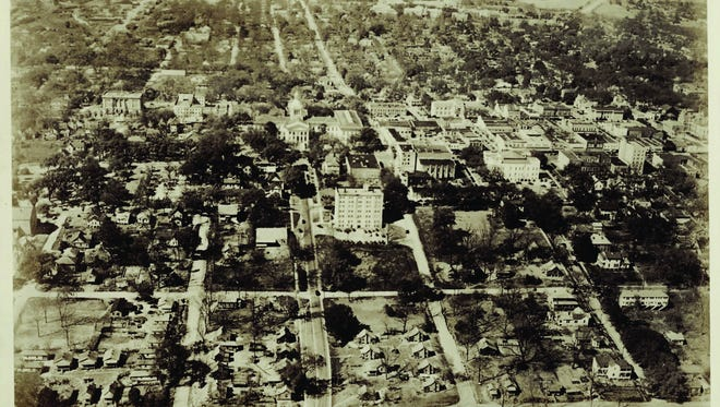 Photo of the previous Smokey Hollow neighborhood in Tallahassee